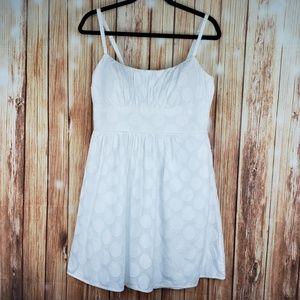 B. Smart white dress size 12